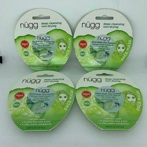 4 Pack Nugg Deep Cleansing Face Mask .33 Fl Oz